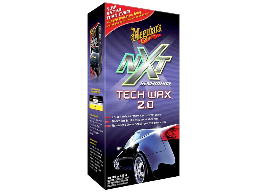 Meguiar's NXT Generation Tech Wax 2.0 Liquid – tekutý, plně syntetický vosk 532 ml (Hýčkejte si i Vy svůj vůz špičkovou kvalitní autokosmetikou od Meguiar's - jedničky amerického trhu!)