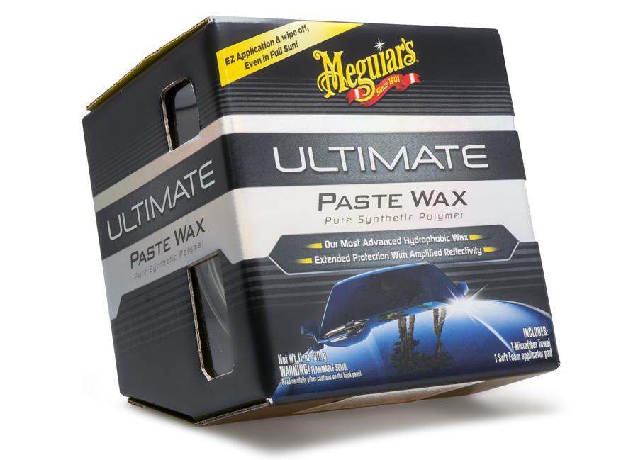 Meguiar's Ultimate Wax Paste - prvotřídní tuhý vosk na bázi syntetických polymerů, 311 g (Hýčkejte si i Vy svůj vůz špičkovou kvalitní autokosmetikou od Meguiar's - jedničky amerického trhu!)
