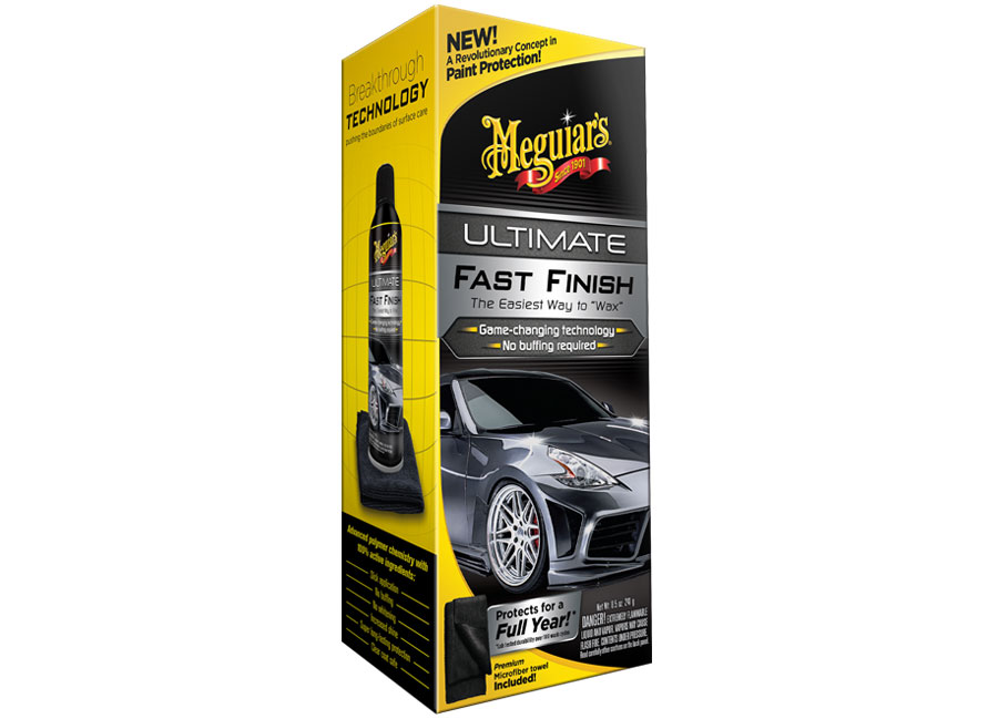 Meguiar's Ultimate Fast Finish – výjimečně dlouhodobá ochrana laku (coating), s velmi snadnou aplikací, 241 g (Hýčkejte si i Vy svůj vůz špičkovou kvalitní autokosmetikou od Meguiar's - jedničky amerického trhu!)