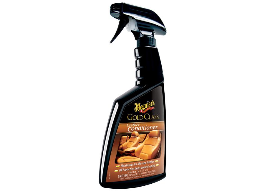 Meguiar's Gold Class Leather Conditioner – prvotřídní kondicionér na kůži, 473 ml