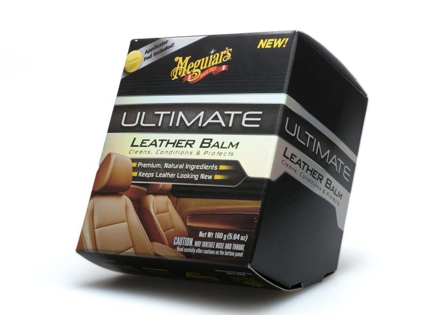 Meguiar's Ultimate Leather Balm – prvotřídní balzám na kůži, 160 g (Hýčkejte si i Vy svůj vůz špičkovou kvalitní autokosmetikou od Meguiar's - jedničky amerického trhu!)