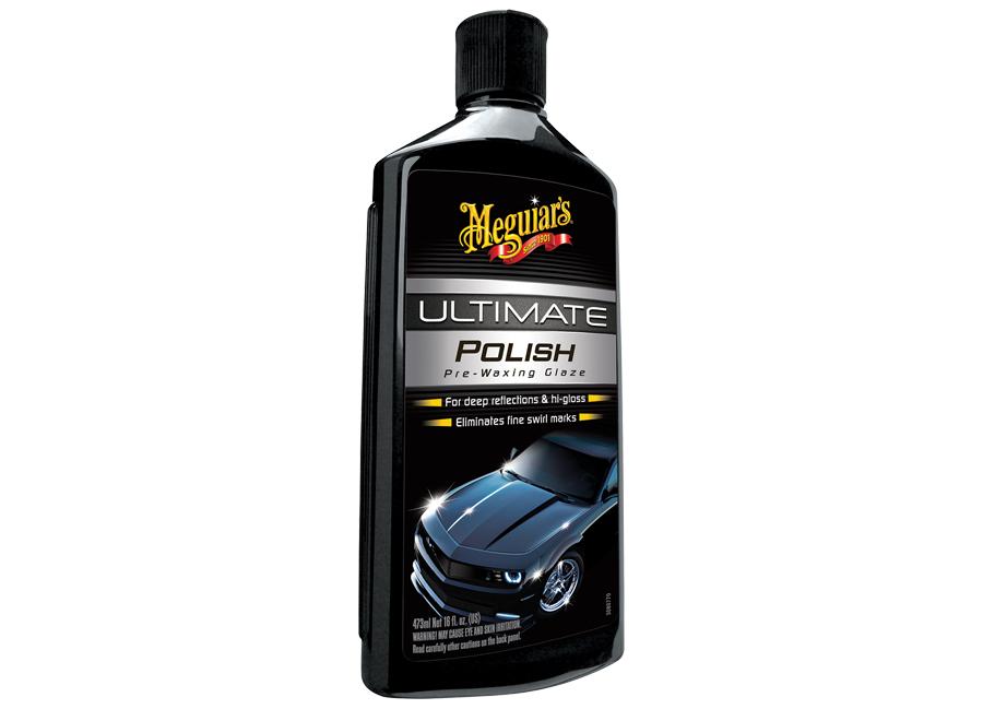 Meguiar's Ultimate Polish – unikátní neabrazivní leštěnka pro maximální lesk, 473 ml (Hýčkejte si i Vy svůj vůz špičkovou kvalitní autokosmetikou od Meguiar's - jedničky amerického trhu!)