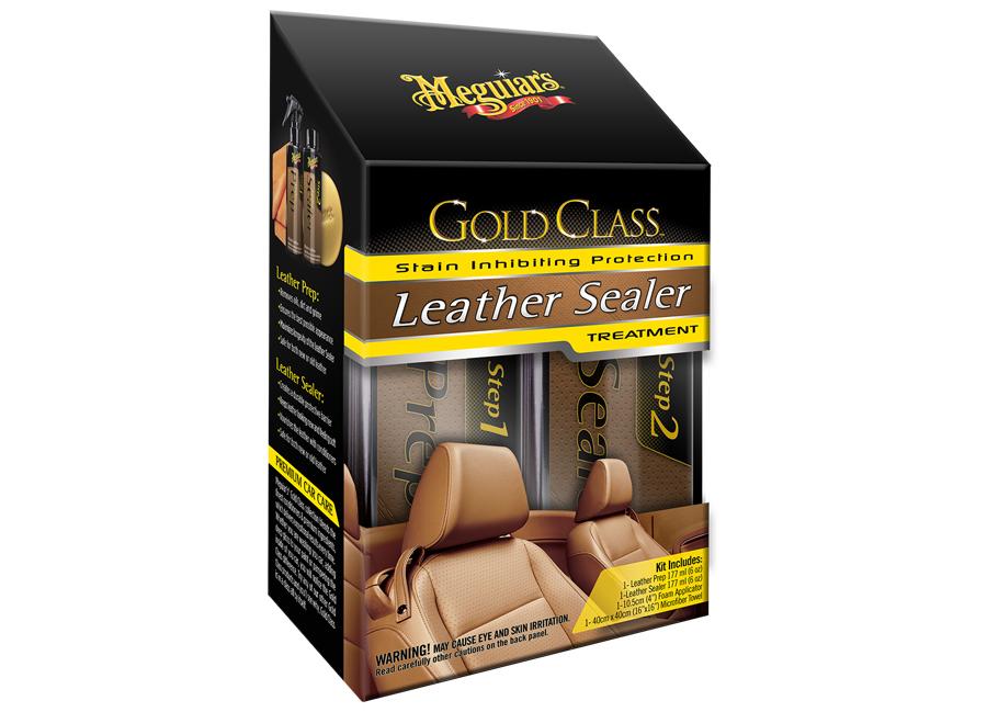 Meguiar's Gold Class Leather Sealer Treatment – oblíbená sada pro hloubkové čištění a dlouhodobou ochranu kůže (Hýčkejte si i Vy svůj vůz špičkovou kvalitní autokosmetikou od Meguiar's - jedničky amerického trhu!)
