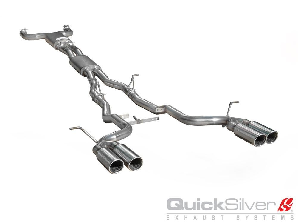 "QuickSilver Exhausts Sports | Jaguar XK8 4.2, 2006-08, JR293S (Výfukový systém ""SuperSport"")"