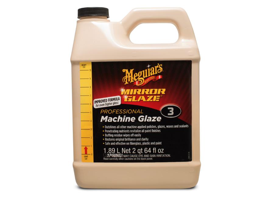 Meguiar's Machine Glaze, 1,89 l – prvotřídní finišovací leštěnka na různé typy povrchů (Hýčkejte si i Vy svůj vůz špičkovou kvalitní autokosmetikou od Meguiar's - jedničky amerického trhu!)
