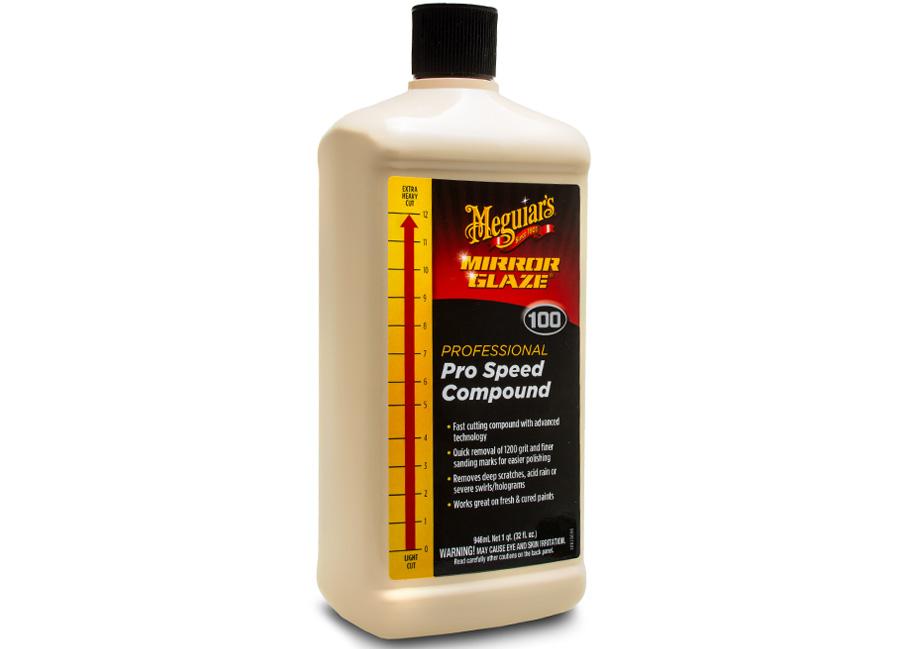 Meguiar's Pro Speed Compound, 946 ml – maximálně účinná profesionální korekční a lešticí pasta s technologií super-mikroabraziv (Hýčkejte si i Vy svůj vůz špičkovou kvalitní autokosmetikou od Meguiar's - jedničky amerického trhu!)