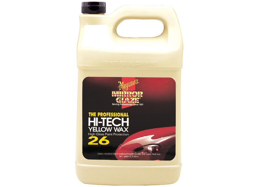 Meguiar's Hi-Tech Yellow Wax 3,78 l – pro fantasticky hluboký lesk a dlouhotrvající ochranu (Hýčkejte si i Vy svůj vůz špičkovou kvalitní autokosmetikou od Meguiar's - jedničky amerického trhu!)
