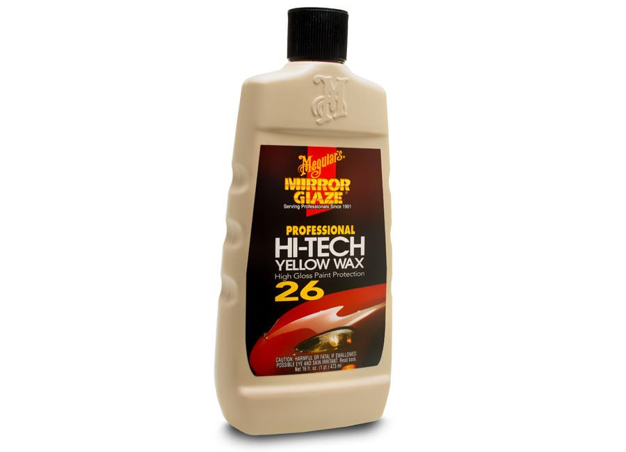 Meguiar's Hi-Tech Yellow Wax 473 ml - pro fantasticky hluboký lesk a dlouhotrvající ochranu (Hýčkejte si i Vy svůj vůz špičkovou kvalitní autokosmetikou od Meguiar's - jedničky amerického trhu!)