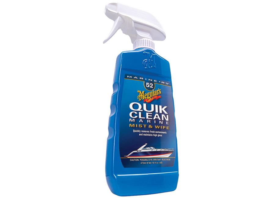 Meguiar's Quik Clean Marine – prvotřídní přípravek pro rychlou a snadnou údržbu lodí a karavanů, 473 ml (Hýčkejte si i Vy svůj vůz špičkovou kvalitní autokosmetikou od Meguiar's - jedničky amerického trhu!)