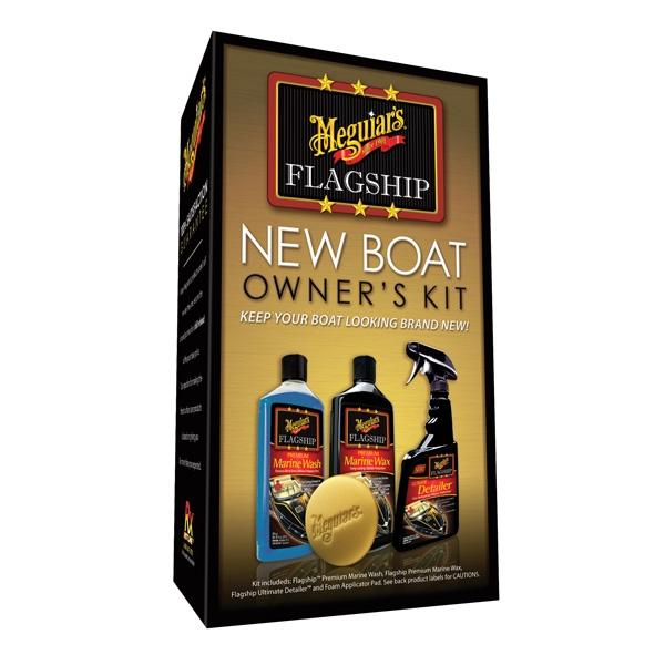 Meguiar's Flagship New Boat Owners Kit – oblíbená sada lodní kosmetiky