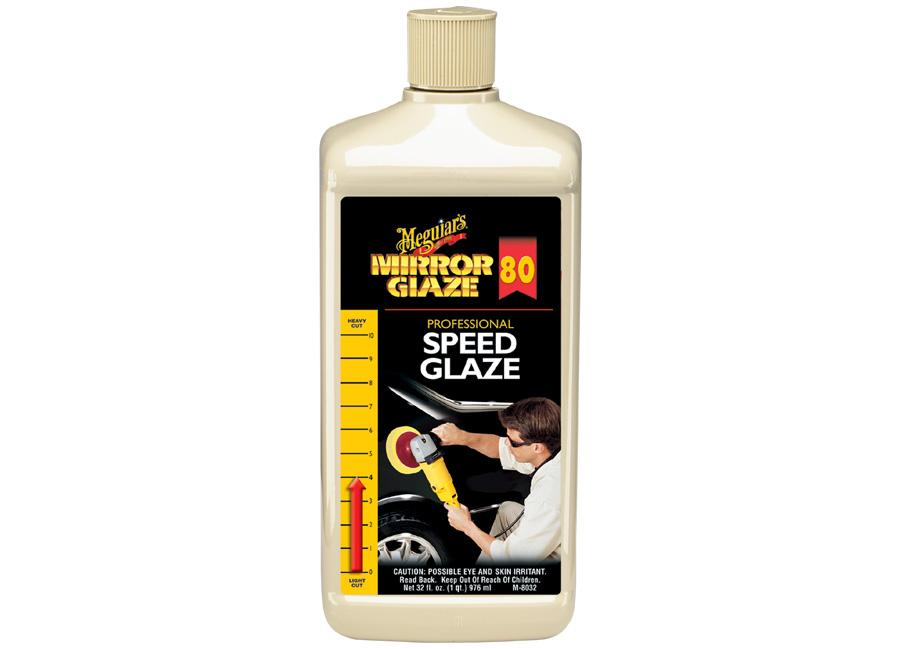 Meguiar's Speed Glaze, 946 ml - profesionální finišovací leštěnka se super-mikroabrazivy (Hýčkejte si i Vy svůj vůz špičkovou kvalitní autokosmetikou od Meguiar's - jedničky amerického trhu!)