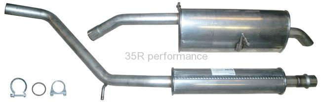 Ferrita výfuk Standard PEK 30711 PEUGEOT 307 2,0 16v DOHC. Kombi/SW