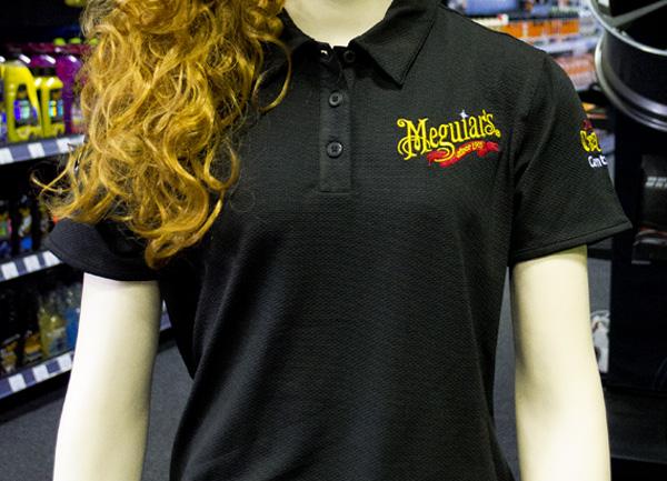 Meguiar's – dámské tričko s límečkem (DOPRODEJ)