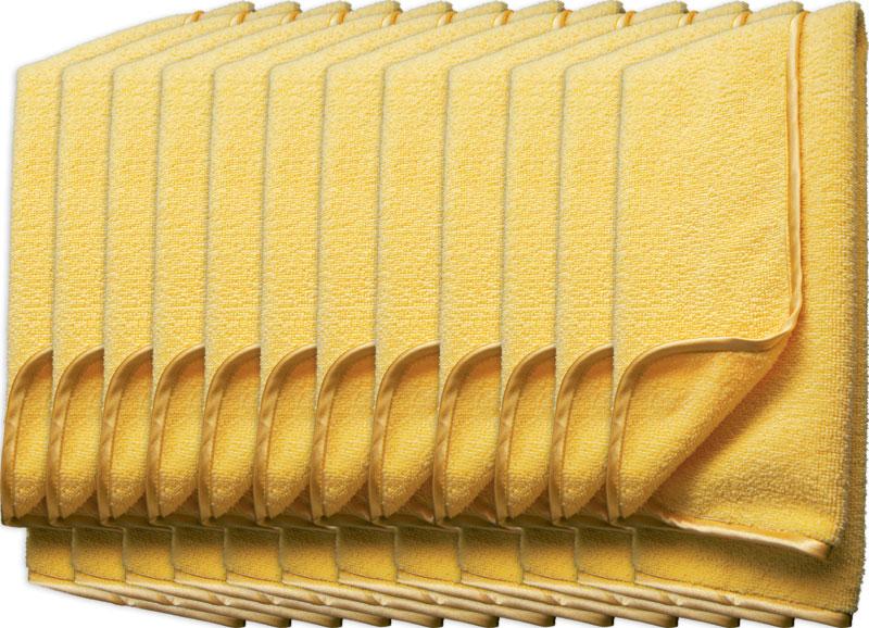 Meguiar's Supreme Shine Microfiber Towel – kvalitní mikrovláknová utěrka, 40 cm x 60 cm (12 kusů)