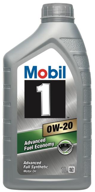 Motorový olej Mobil 1 0W-20 - 1 l