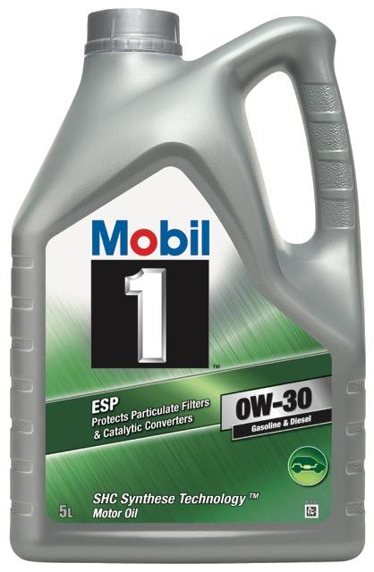 Motorový olej Mobil 1 ESP 0W-30 - 5 l