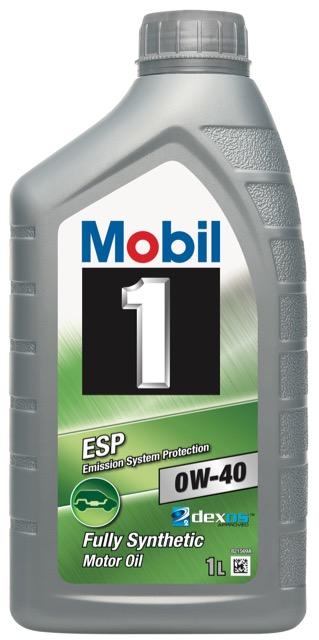 Motorový olej Mobil 1 ESP 0W-40 - 1 l