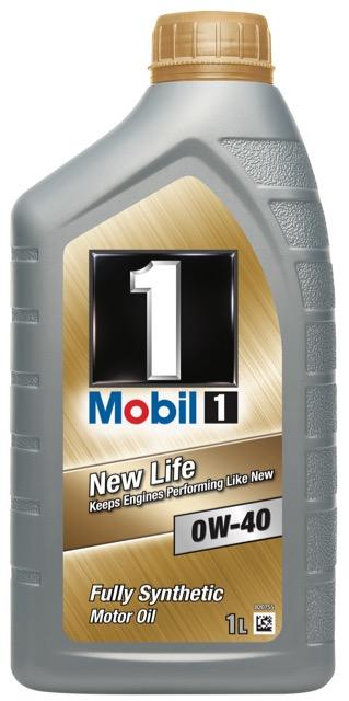 Motorový olej Mobil 1 New Life 0W-40 - 1 l