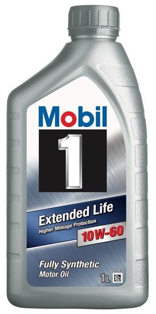 Motorový olej Mobil 1 Extended Life 10W-60 - 1 l