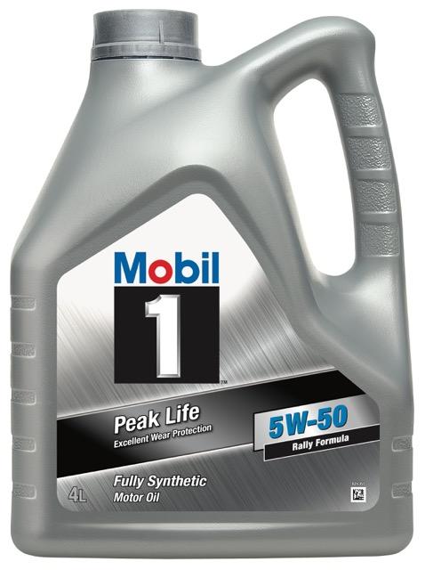 Motorový olej Mobil 1 Peak Life 5W-50 4l