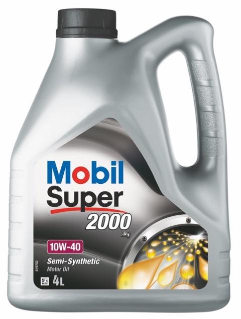Motorový olej Mobil Super 2000 X1 10W-40 - 4 l