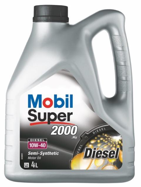 Motorový olej Mobil Super 2000 X1 DSL 10W-40 - 4 l