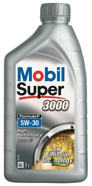 Motorový olej Mobil Super 3000 Formula P 5W-30 - 1 l