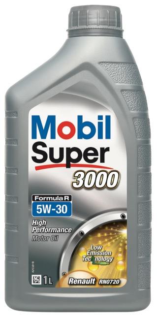 Motorový olej Mobil Super 3000 Formula R 5W-30 - 1 l