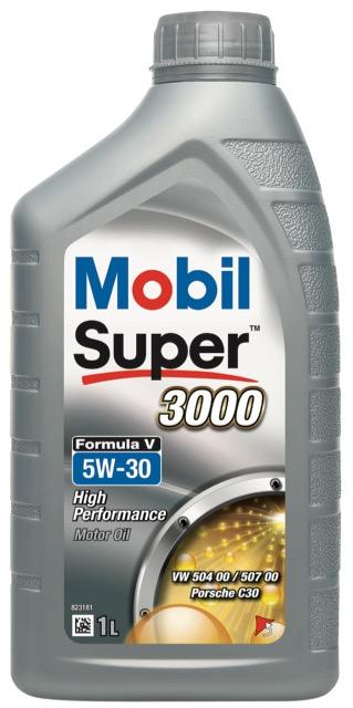 Motorový olej Mobil Super 3000 Formula V 5W-30 - 1 l