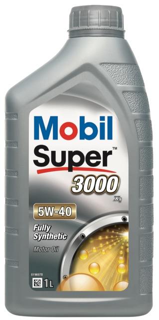 Motorový olej Mobil Super 3000 X1 5W-40 - 1 l