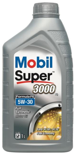Motorový olej Mobil Super 3000 X1 Formula FE 5W-30 - 1 l