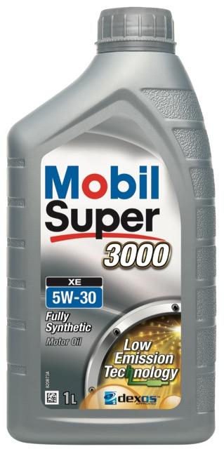 Motorový olej Mobil Super 3000 XE 5W-30 - 1 l