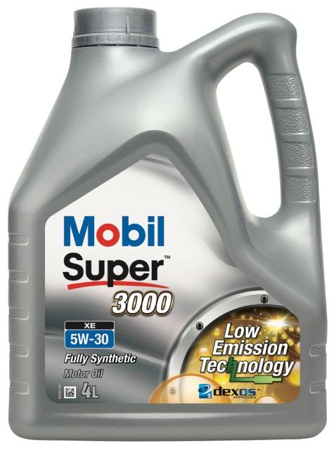 Motorový olej Mobil Super 3000 XE 5W-30 - 4 l