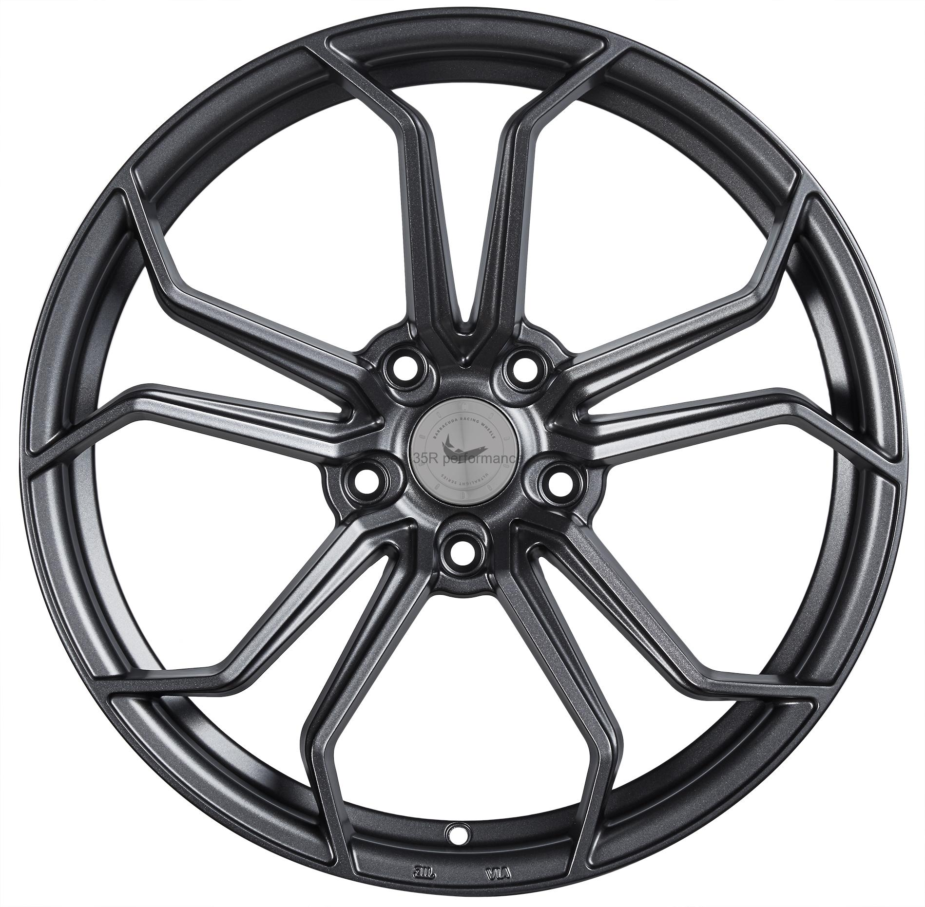 BARRACUDA ULTRALIGHT PROJECT 1.0 Mattgunmetal - 8,5x20 / 5x120 / ET43, RHPRO185043T/MGM