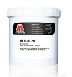 MILLERS OILS Hi Moly Grease 20 - 500 ml