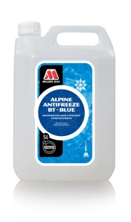 MILLERS OILS Alpine Antifreeze BT - Blue –  5 l