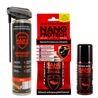 NANOPROTECH GNP ANTIRUST Professional 300 ml