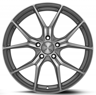 BARRACUDA INFERNO Higloss-Gunmetal-polished - 10,5x20 / 5x114,3 / ET40, RCINF10040S/HGGM-P