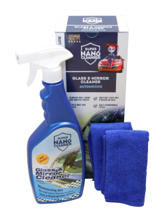 NANOPROTECH GNP Glass & Mirrors Cleaner Automotive sada