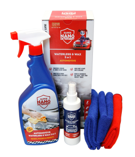 NANOPROTECH GNP Waterless & Wax 3v1 Automotive sada