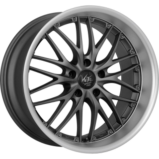 BARRACUDA VOLTEC T6 Gunmetal / Matt-polished-Lip / your paint - 11,0x19 / 5x130 / ET52, RTVO611952Z/GM_MP/YP