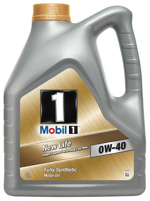 Motorový olej Mobil 1 New Life 0W-40 - 4 l