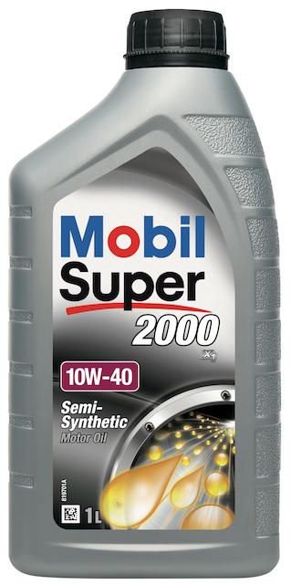 Motorový olej Mobil Super 2000 X1 10W-40 - 1 l