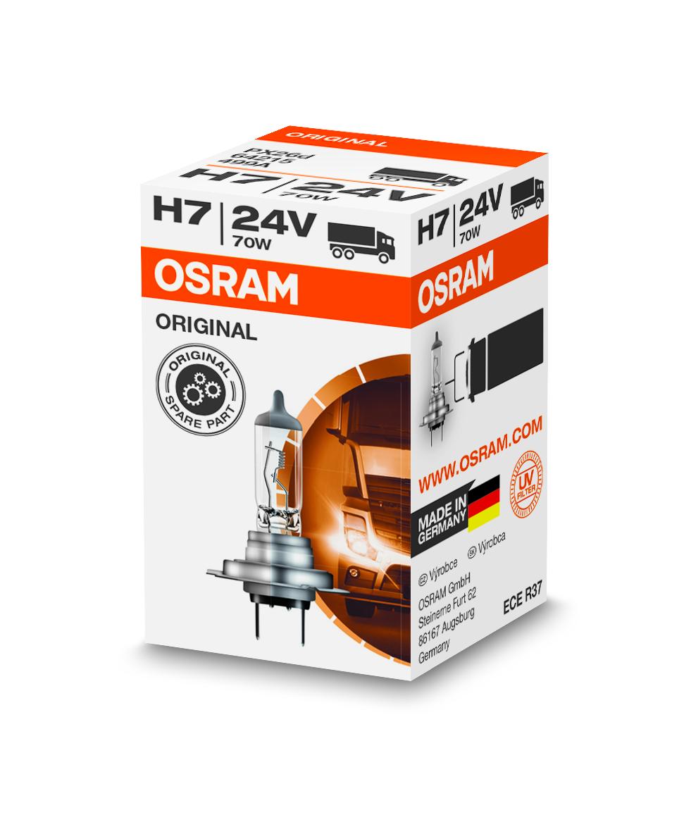 Osram halogenová žárovka, STANDARD, H7, PX26d, 24V, 70W, 64215