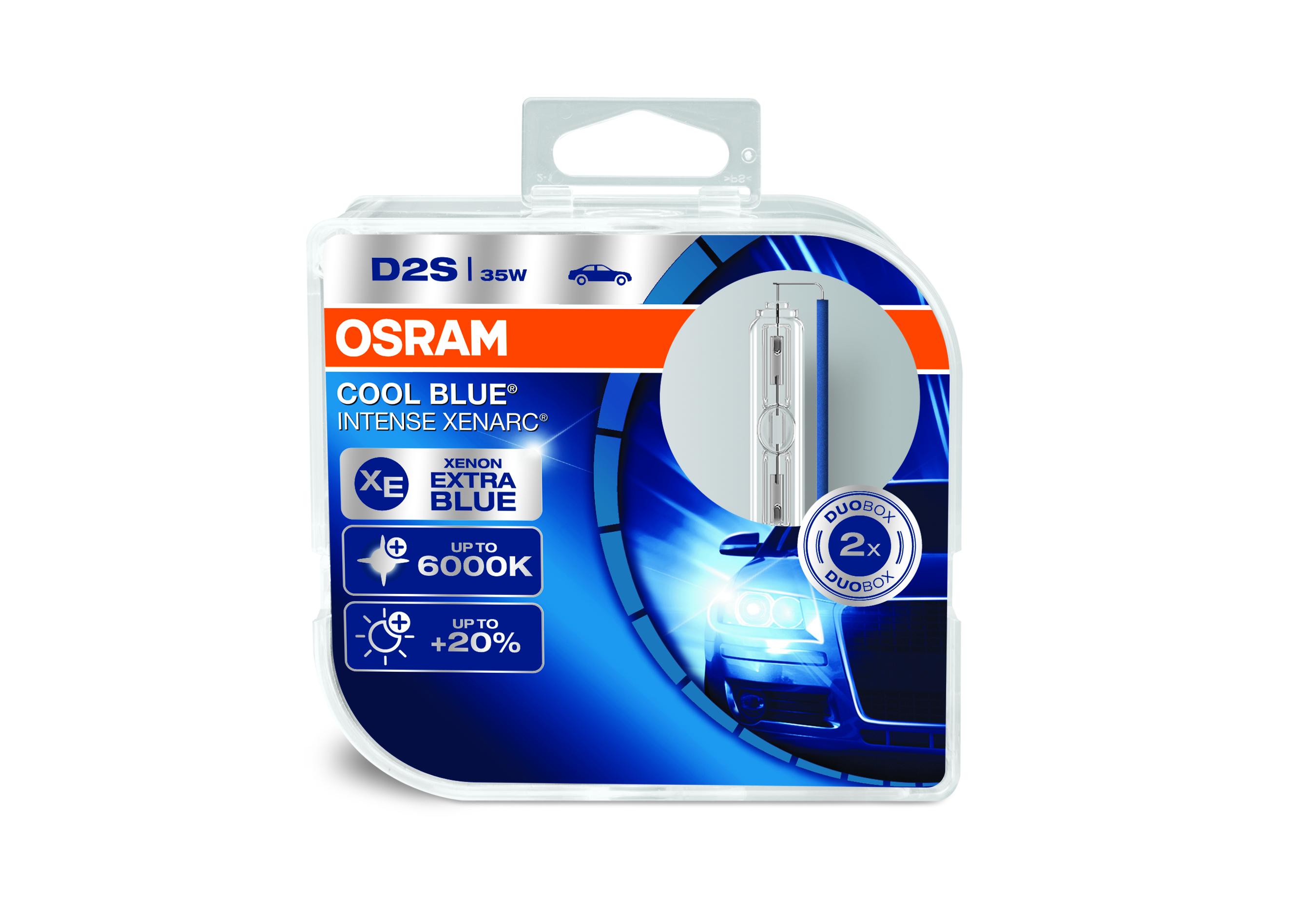 Osram Xenonová výbojka, XENARC CB INTENSE, D2S, P32d-2, 12/24V, 35W, 66240CBI-HCB