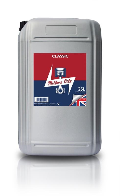 Motorový olej MILLERS OILS Classic Pistoneeze 40 – 25 l