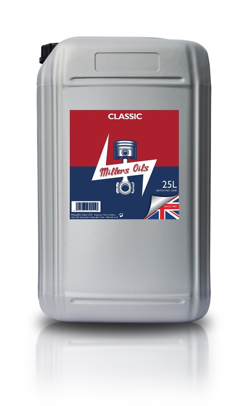 Motorový olej MILLERS OILS Classic Pistoneeze 50 - 25 l