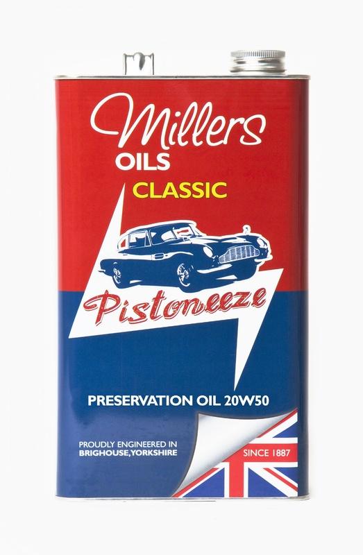 Motorový olej MILLERS OILS Preservation Oil 20w50 – 5 l