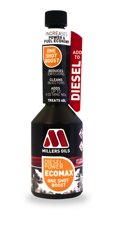 MILLERS OILS Diesel Power EcoMax - One Shot Boost - 250 ml