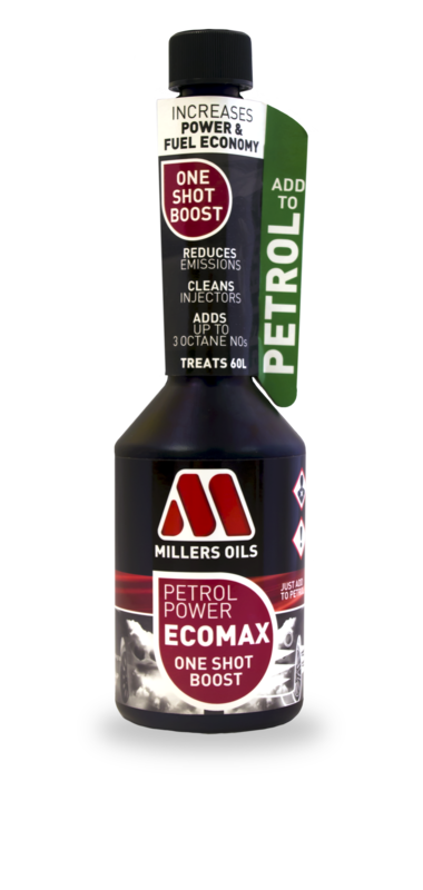 MILLERS OILS Petrol Power EcoMax - One Shot Boost - 500 ml
